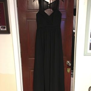 Alfred Angelo black gown